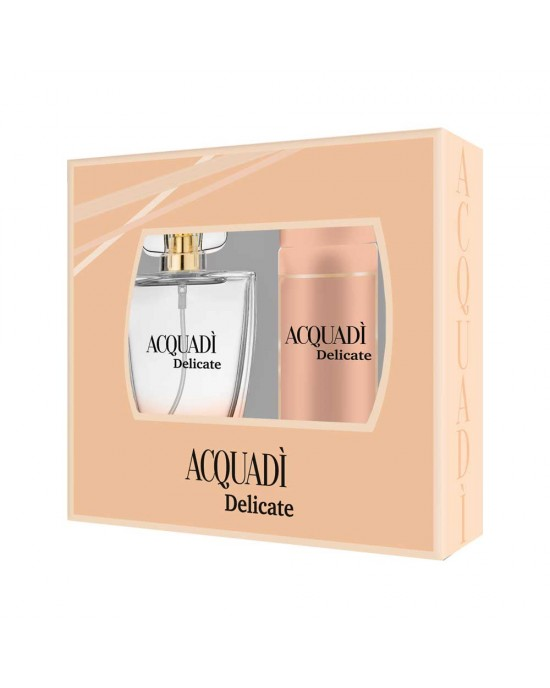 ACQUADI DELICATE ΓΥΝΑΙΚΕΙΟ ΣΕΤ EDT SPRAY 100 ML +  DEO SPRAY 150 ML