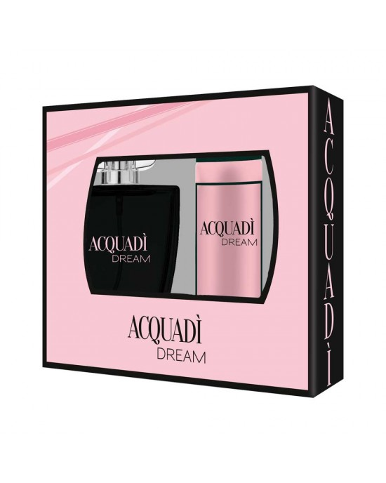 ACQUADI DREAM ΓΥΝΑΙΚΕΙΟ ΣΕΤ EDT SPRAY 100 ML +  DEO SPRAY 150 ML