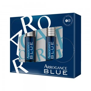 ARROGANCE BLUE ΑΝΔΡΙΚΟ  ΣΕΤ EDT 30ML + AFTER SHAVE 30ML - 2020