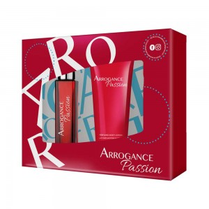 ARROGANCE PASSION ΓΥΝΑΙΚΕΙΟ ΣΕΤ EDT SPRAY 30ML + BODY LOTION 100ML - 2020