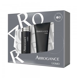ARROGANCE UOMO ΑΝΔΡΙΚΟ ΣΕΤ EDT SPRAY 30ML + H&B SHAMPOO 100ML - 2020