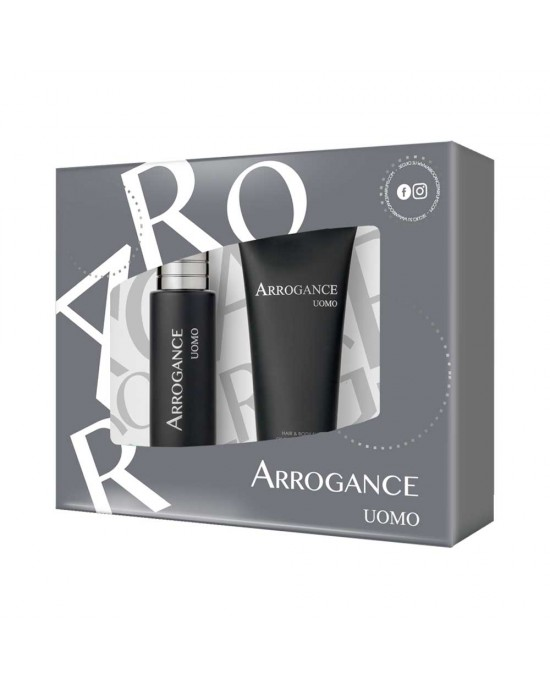 ARROGANCE UOMO ΑΝΔΡΙΚΟ ΣΕΤ EDT SPRAY 30ML + H&B SHAMPOO 100ML