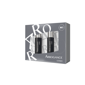 ARROGANCE UOMO ΑΝΔΡΙΚΟ ΣΕΤ EDT SPRAY 30ML + AFTER SHAVE 30ML - 2020