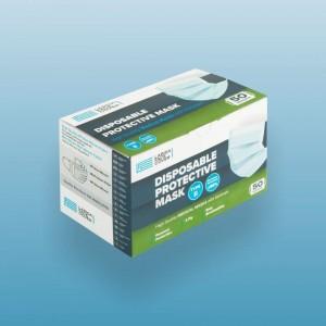 ΜΑΣΚΑ ΠΡΟΣΩΠΟΥ 3PLY TYPE II - 50 TEM/ΚΟΥΤΙ ΕΛΛΗΝΙΚΗΣ ΚΑΤΑΣΚΕΥΗΣ (>98% bacterial filtration)