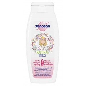 SANOSAN KIDS 3in1 PRINCESS SHOWER&SHAMP&COND ΓΙΑ ΚΟΡΙΤΣΙΑ 250ml