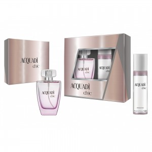 ACQUADI WOMAN SET CHIC - EDT SPRAY 100 ML + DEO SPRAY 150 ML
