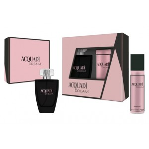 ACQUADI WOMAN SET DREAM  - EDT SPRAY 100 ML + DEO SPRAY 150 ML