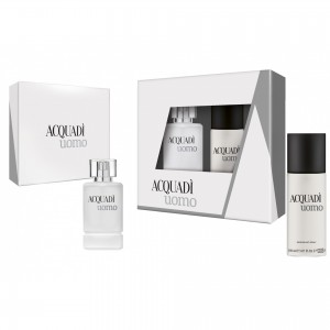ACQUADI MAN SET UOMO  - EDT SPRAY 100 ML + DEO SPRAY 150 ML