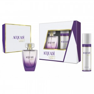 ACQUADI WOMAN SET VANITY - EDT SPRAY 100 ML + DEO SPRAY 150 ML