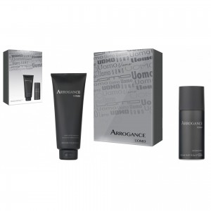 ARROGANCE UOMO ΣΕΤ H&B SHAMPOO 400ml & DEO SPRAY 150ML