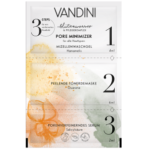 VANDINI POREMINIMIZER 3-Step Mask 12ML