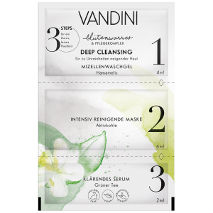 VANDINI DEEP CLEANSING 3-Step Mask 12ML